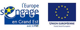 logo du Fonds social européen et de l'Union Européenne