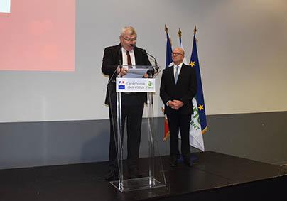 Discours du président du Département et le préfet de la Marne