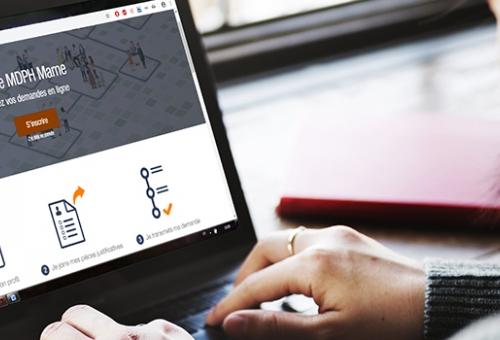 MDPH en ligne : le dossier de demande simplifié par internet
