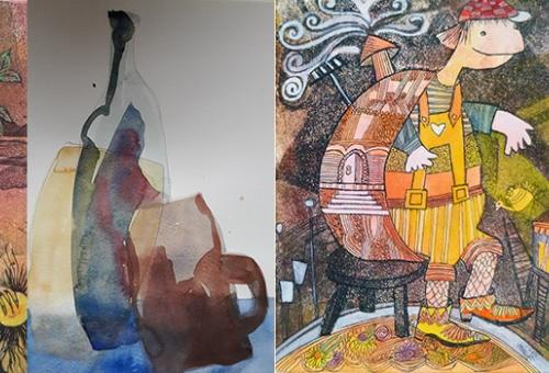 Gravures et aquarelles, nouvelle exposition à la Maison du Département