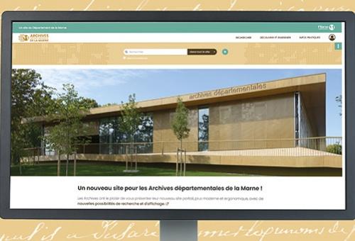 Le site des Archives départementales fait peau neuve