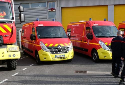 Neuf nouveaux véhicules pour les pompiers de la Marne