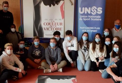 Les collégiens de Saint-Memmie ont participé à une journée sur l'olympisme