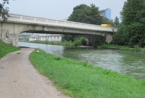 Travaux de reconstruction du pont de Sillery sur RD 944
