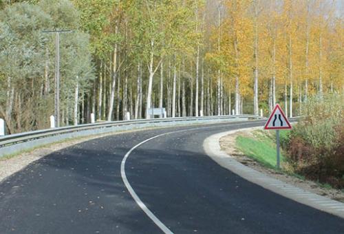 Inauguration des travaux de réhabilitation de la RD 58