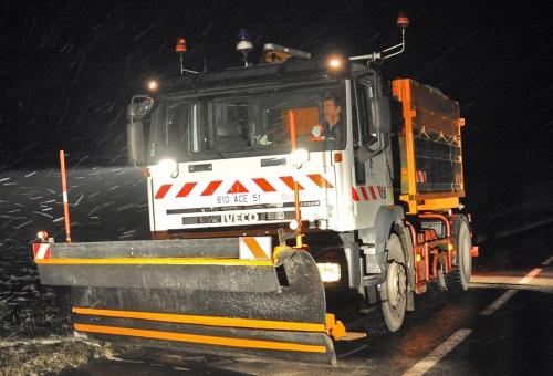 Viabilité hivernale sur les routes : le dispositif est en place