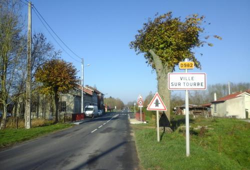 De nouveaux aménagements de sécurité routière à  Ville-sur-Tourbe