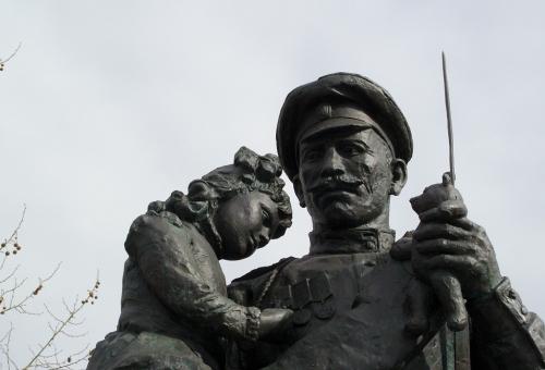Les russes à Courcy, un week-end d\'hommages
