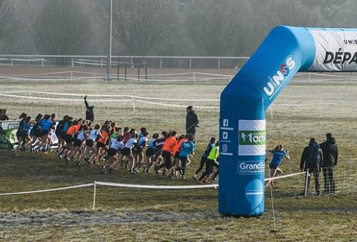 Plus de 2.000 coureurs pour le championnat de France de cross country UNSS