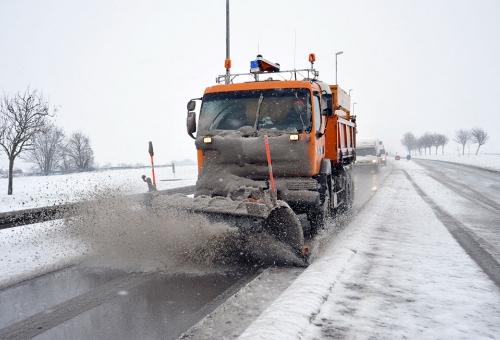 L\'hiver arrive sur les routes, le Département est prêt