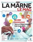 Couverture du magazine 60 représentant le numérique dans le territoire