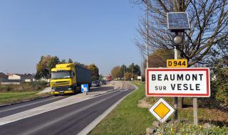 Beaumont-sur-vesle : ouverture du contournement