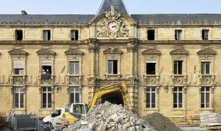 Collège Université : la phase 2 du chantier en images