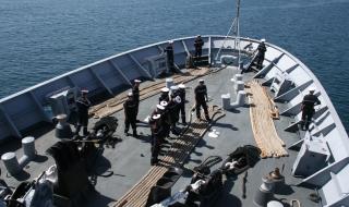 Des marins du Marne en escale dans la Marne...