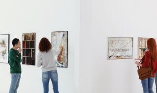 La Maison du Département accueille les toiles de Françoise Lépinois
