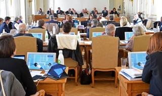 Séance plénière du conseil départemental