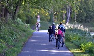Véloroute de la Vallée de la Marne, ça roule entre Damery et Dormans !