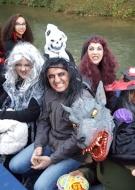 Balade en barque Halloween !