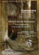 Conférence : les purgatoires d\'un artiste pompier