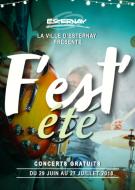 F\'EST\'été Concert d\'Esternay du 20 juillet 2018