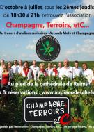 Atelier de dégustation gastronomique - Champagne François Secondé