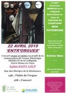 Visite de l\'orgue et concert à l\'Eglise St Loup