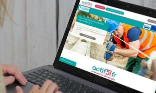 Actif51 : le site qui rapproche les bénéficiaires du RSA et les employeurs - nouvelle fenêtre