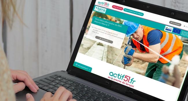Actif51 Le Site Qui Rapproche Les Beneficiaires Du Rsa Et Les