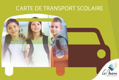 Demande de duplicata de carte transport scolaire