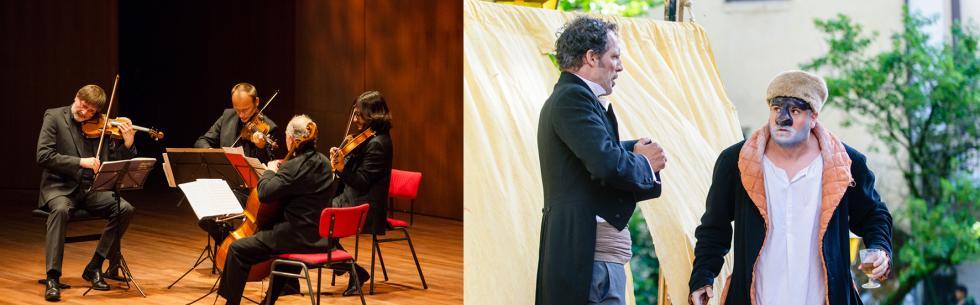 Rentrée des Itinéraires entre Musique classique et Commedia dell'arte