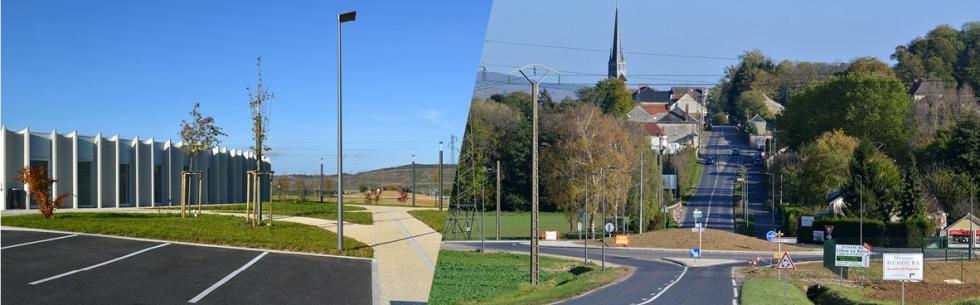 À Mareuil-le-Port, le giratoire et le pôle scolaire inaugurés !