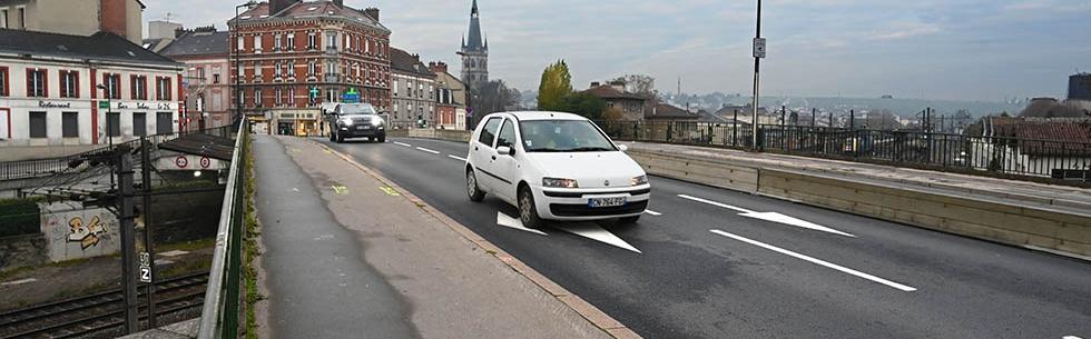 Fin de la première phase des travaux du pont SNCF à Épernay